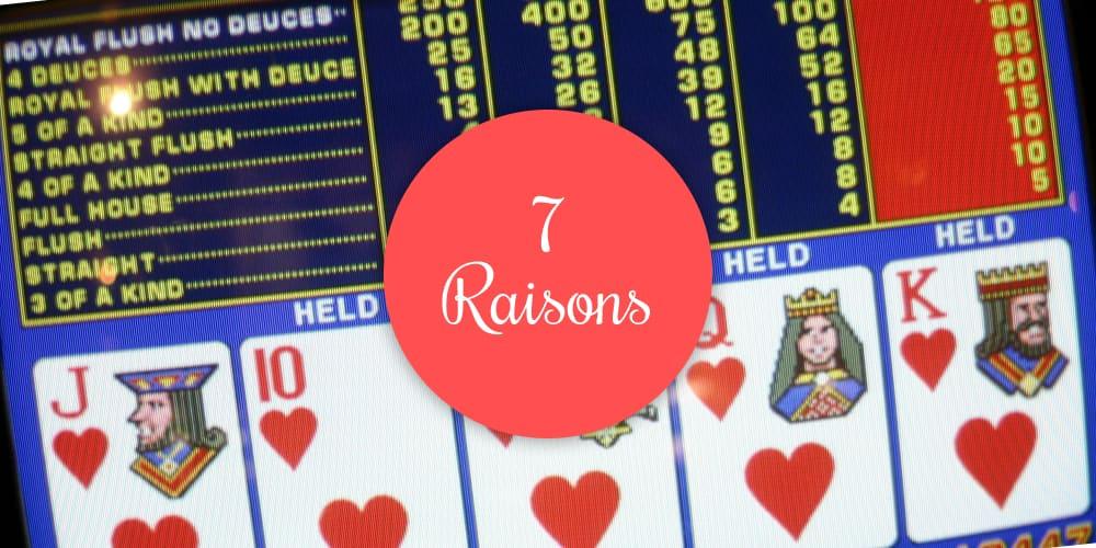 Tableau de Bord de Vidéo Poker